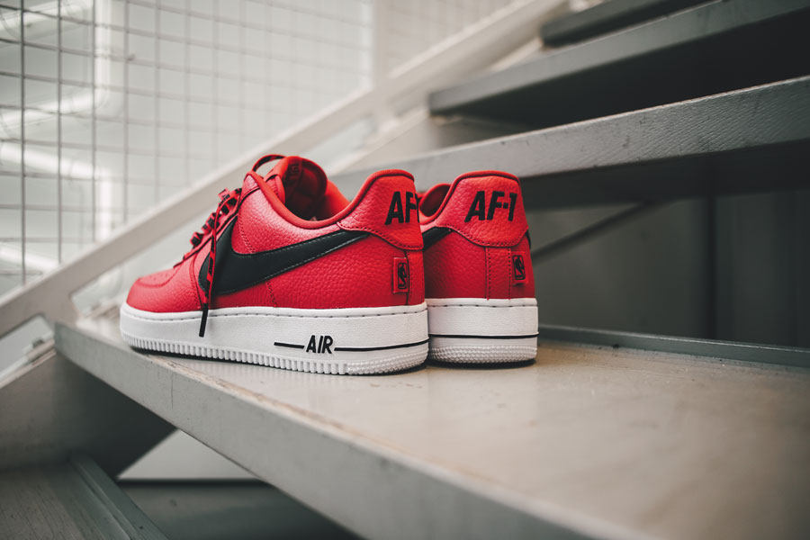 35 Years of Nike Air Force 1 - sizetenplease (NBA Collection Red)