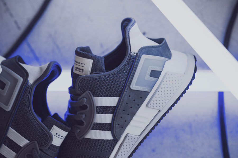 adidas EQT Cushion ADV Blue 95 - Grey (Side)