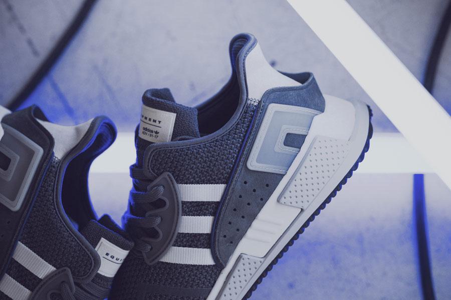 adidas EQT Cushion ADV Blue 95 - Grey (Side)