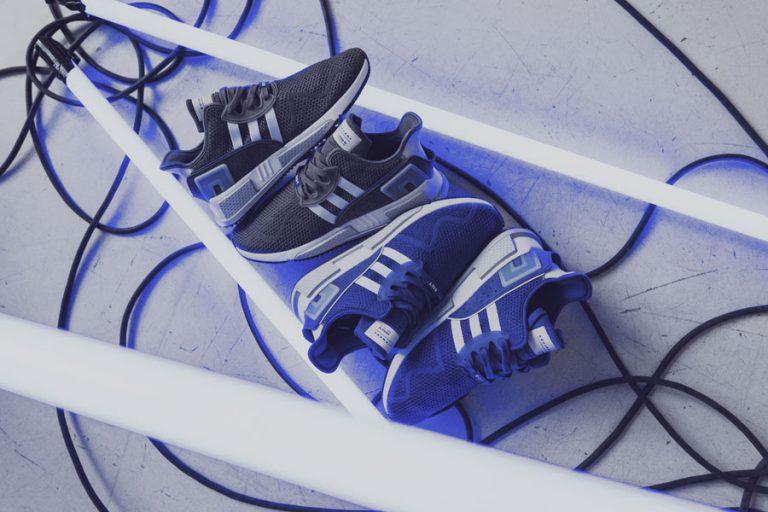 adidas EQT Cushion ADV Blue 95 - Pack Shot
