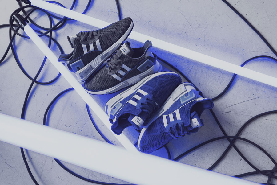 adidas EQT Cushion ADV Blue 95 - Pack Shot