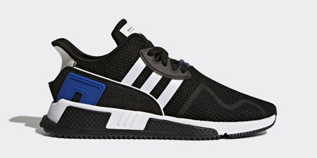 adidas EQT Cushion ADV - CQ2374 (CORE BLACK / FTWR WHITE / COLLEGIATE ROYAL)