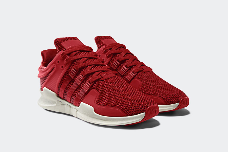 adidas EQT Support ADV Snakeskin - Red