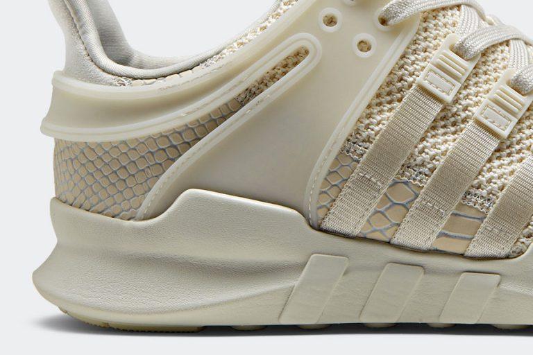 adidas EQT Support ADV Snakeskin - White (Detail)