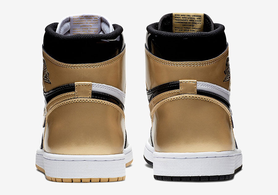 Air Jordan 1 Gold Top 3 (861428-001) - Back