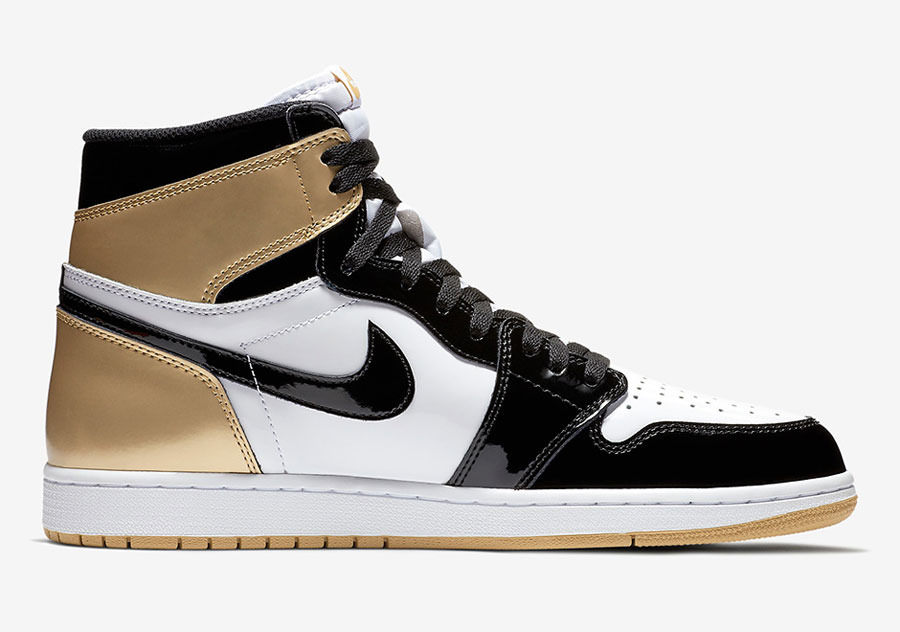 Air Jordan 1 Gold Top 3 (861428-001) - Left