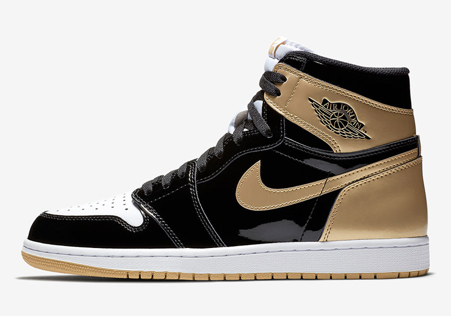 Air Jordan 1 Gold Top 3 (861428-001) - Right