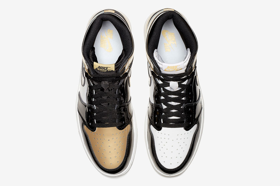 Air Jordan 1 Gold Top 3 (861428-001) - Top