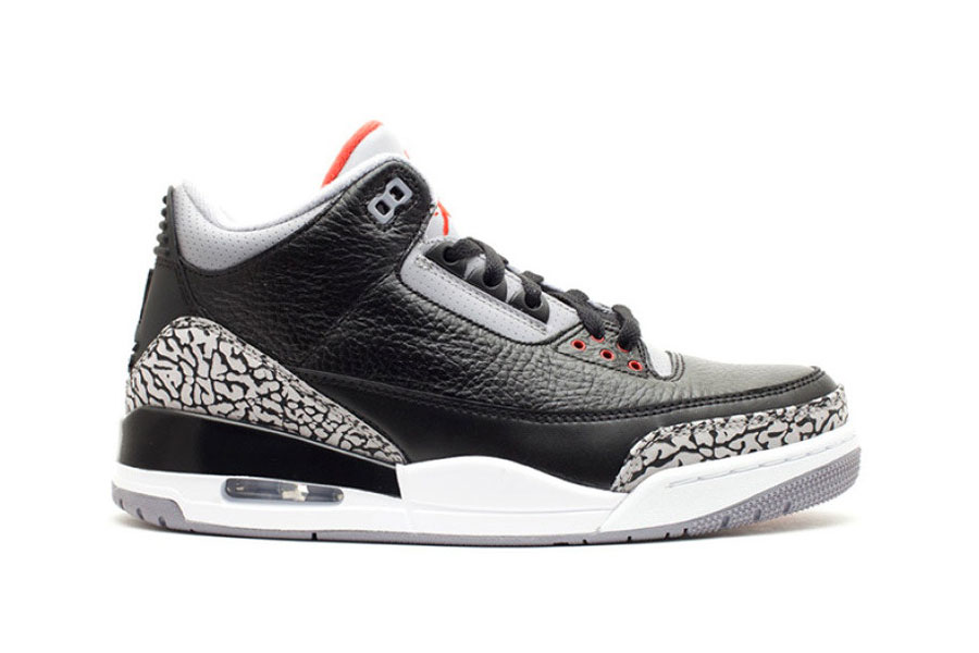 Air Jordan Release Dates 2018 - Nike Air Jordan 3 OG Retro Black Cement 8b9aa5e15