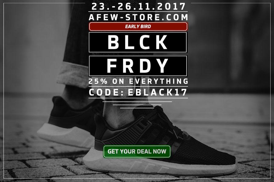 Black Friday Sneaker Sales 2017 - Afew
