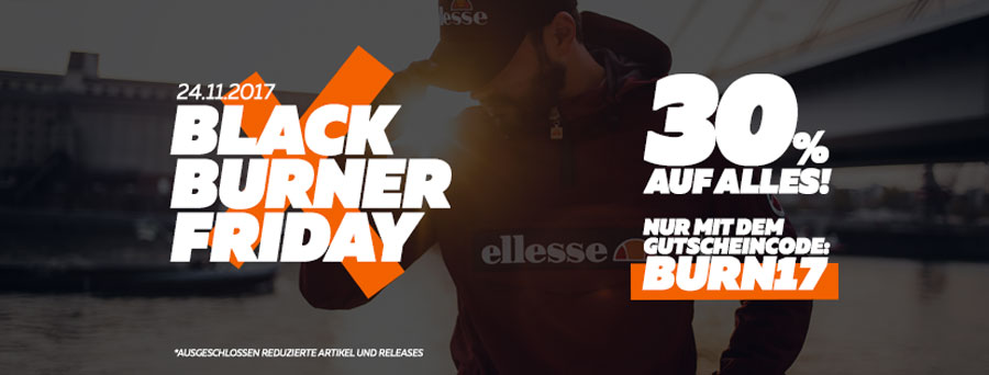 Black Friday Sneaker Sales 2017 - Burner