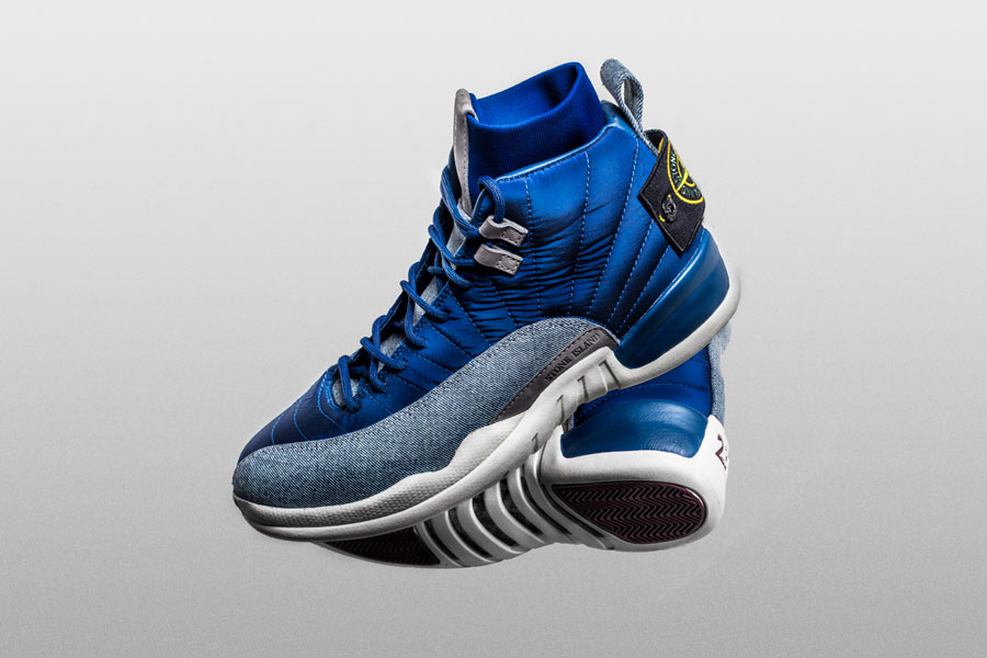 huge selection of d5dc0 b9fcd Drake Now Owns This 1-Of-1 Stone Island Air Jordan 12. By admin
