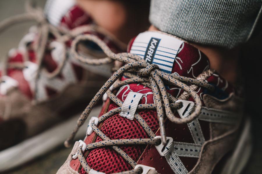 Karhu Mount Saana Pack 2017 - Fusion 2.0 Syrah Friar - Tongue (On feet)