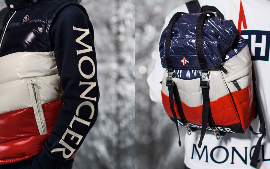 KITH x Moncler x ASICS - Jacket and Backpack