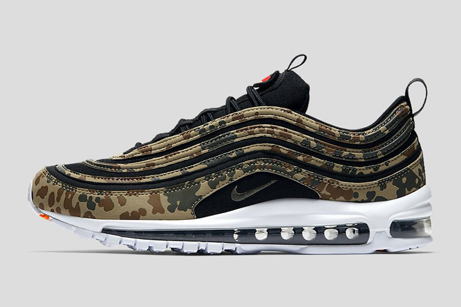 Nike Air Max 97 Country Camo Pack - Germany (Side)