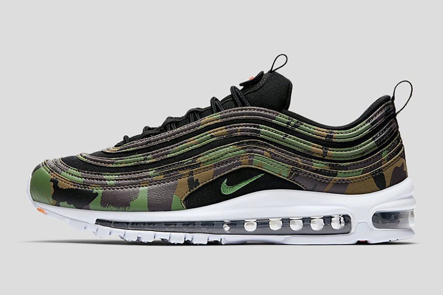 Nike Air Max 97 Country Camo Pack - UK (Side)