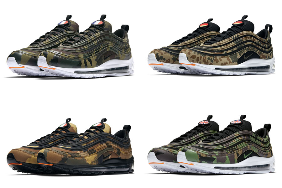 the latest e831e a19fd Nike Air Max 97 Country Camo Pack