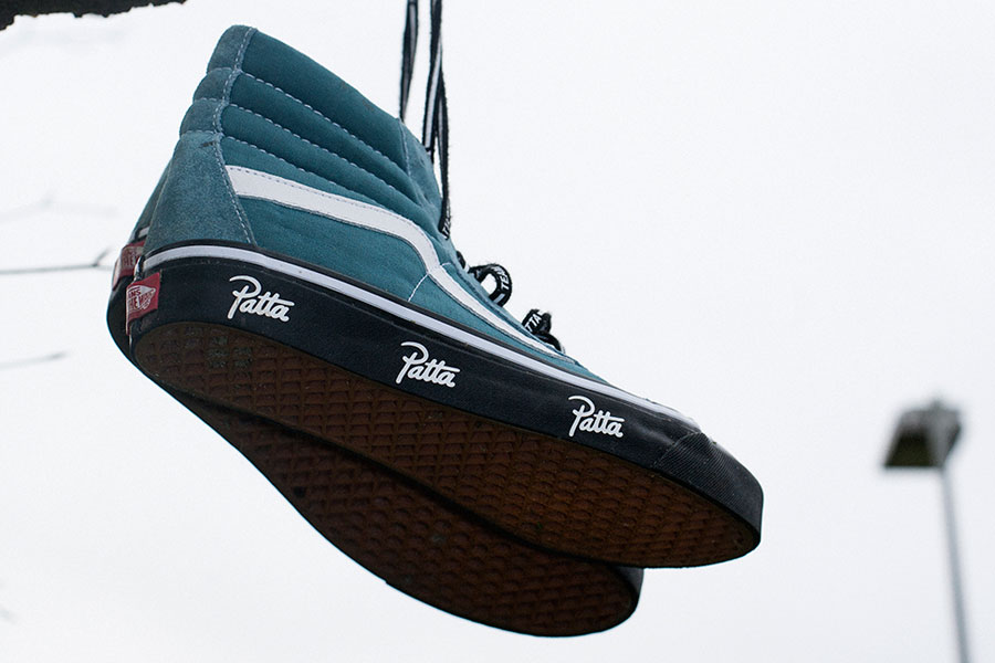 Patta x VANS Sk8-Hi Collection 2017