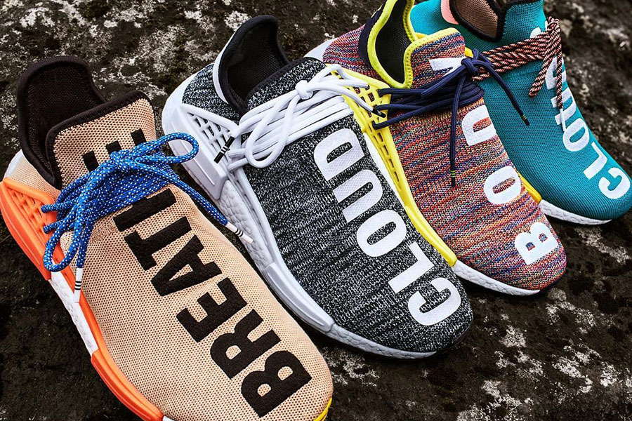 Pharrell adidas Hu NMD TR Hike Collection Sneakers