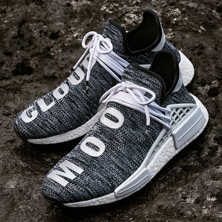Pharrell adidas Hu NMD TR Hike Collection - Core Black (Mood)