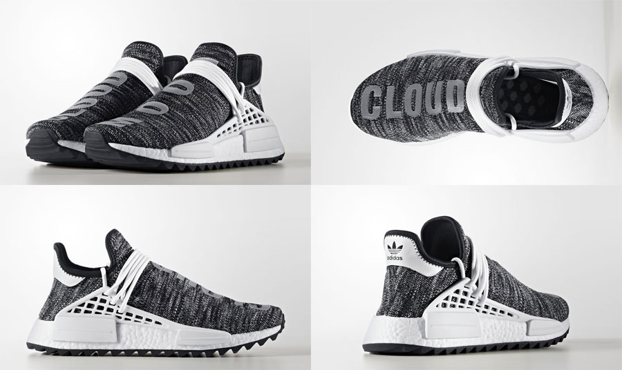 Pharrell adidas Hu NMD TR Hike Collection - Core Black