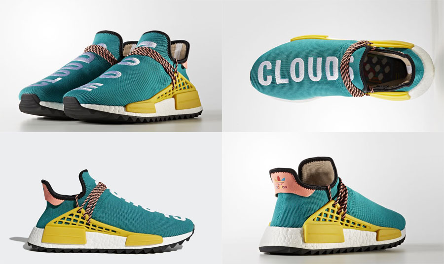 Pharrell adidas Hu NMD TR Hike Collection - Sun Glow