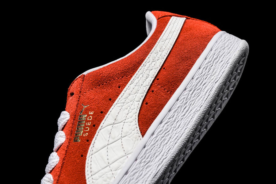online store a20c8 6eba2 PUMA Suede Classic B-Boy Pack 50th Anniversary - Red (Side Stripe)