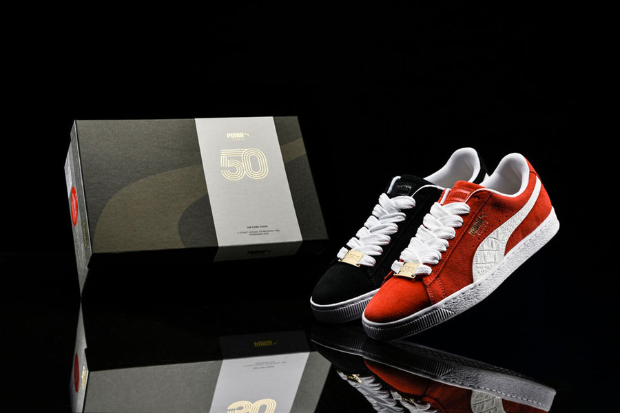 "the best attitude d046b 0bc7b PUMA Suede Classic 50th Anniversary ""B-Boy Pack"""
