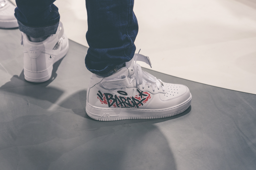Snipes X Nike Air Force 1 Customization