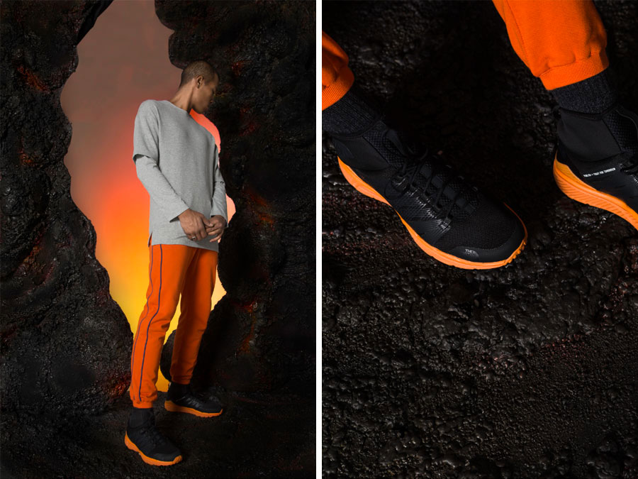 The North Face x Publish Earth's Core - Litewave Ampere II HC (On feet)