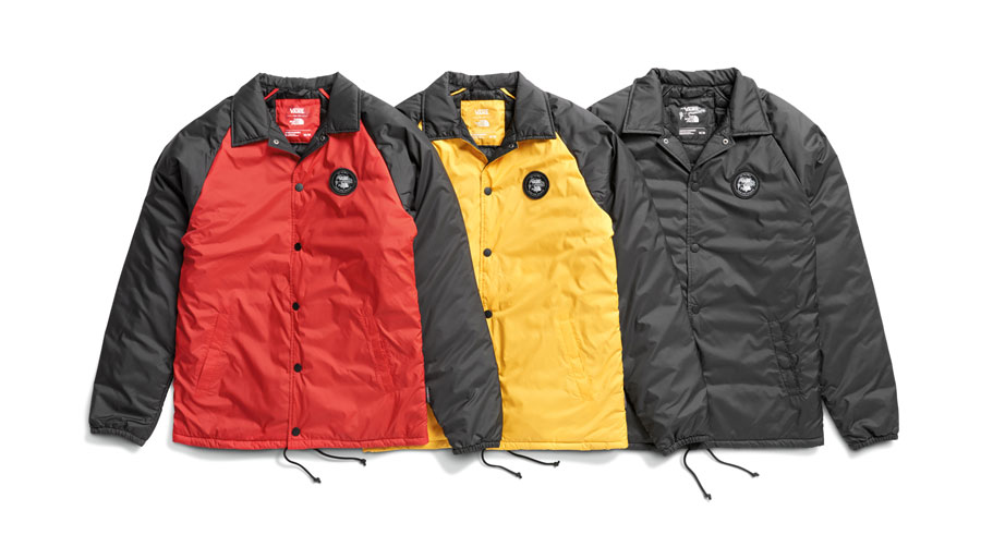 VANS x The North Face 2017 Fall Collection - Jackets