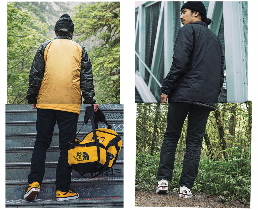 VANS x The North Face 2017 Fall Collection - Old Skool (On feet)