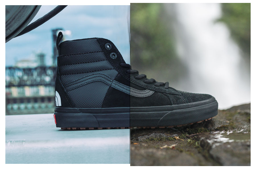 VANS x The North Face 2017 Fall Collection - Sk8-Hi (Black)