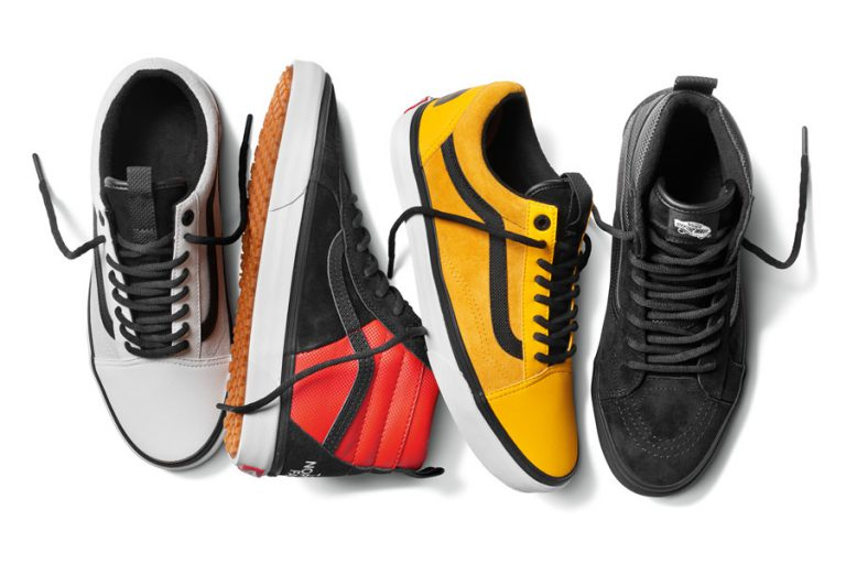 VANS x The North Face 2017 Fall Collection - Old Skool and Sk8-Hi Sneakers