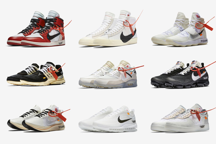 Virgil Abloh OFF-WHITE x Nike Air Presto THE TEN Collection