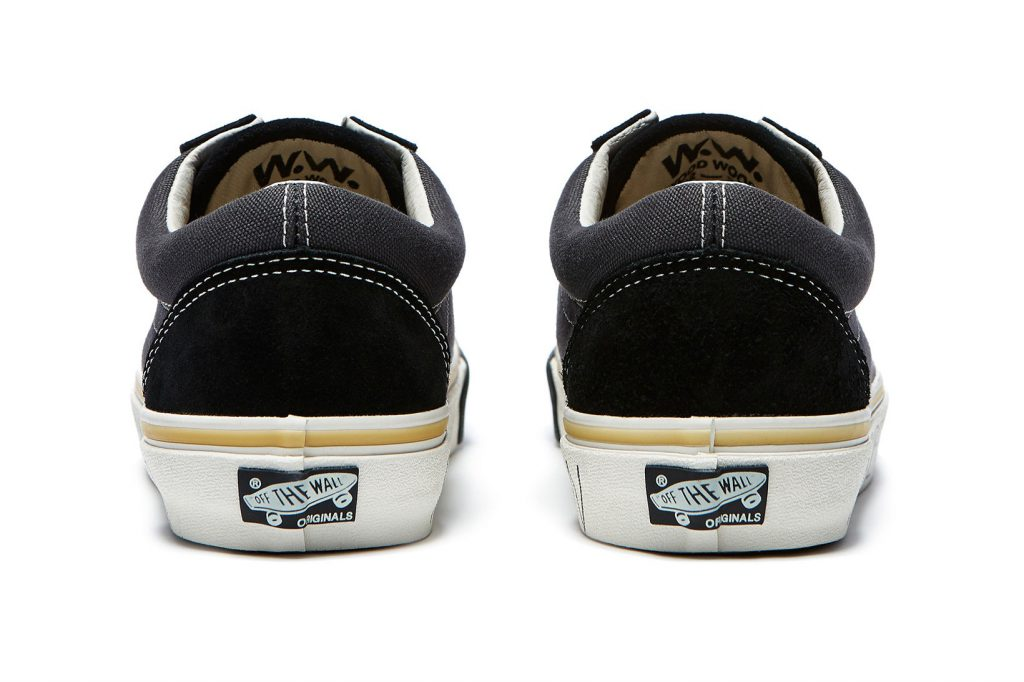 Wood Wood x Vans Old Skool - Black (Back)