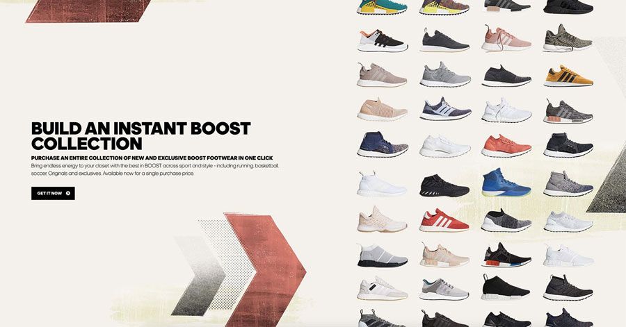 adidas BOOST Collection (Website)