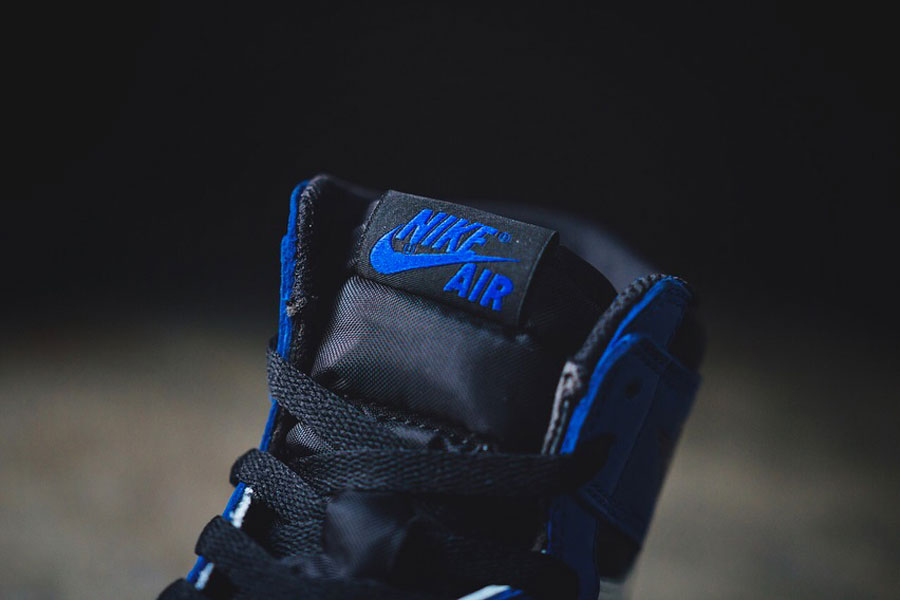 Nike Air Jordan 1 Retro High OG Game Royal (555088-403) - Tongue