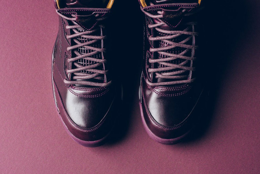 Nike Air Jordan 5 Retro Premium Bordeaux (881432 612) - Laces