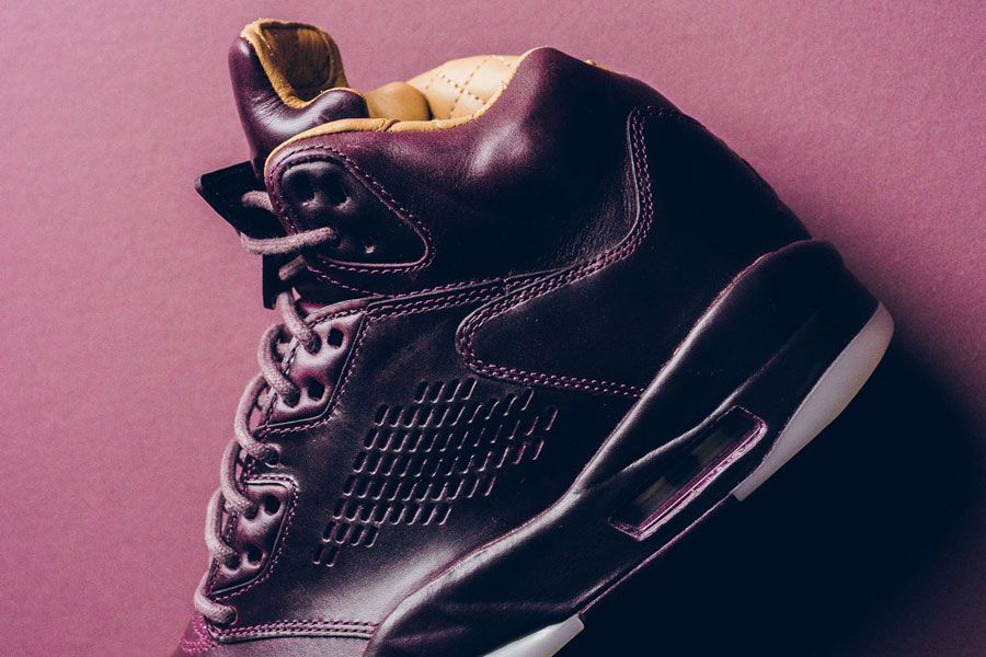Nike Air Jordan 5 Retro Premium Bordeaux (881432 612) - Quarter