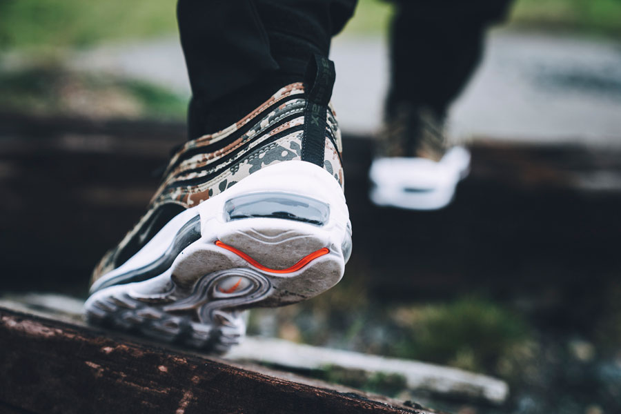 Nike Air Max 97 Country Camo Germany - On feet (Back)