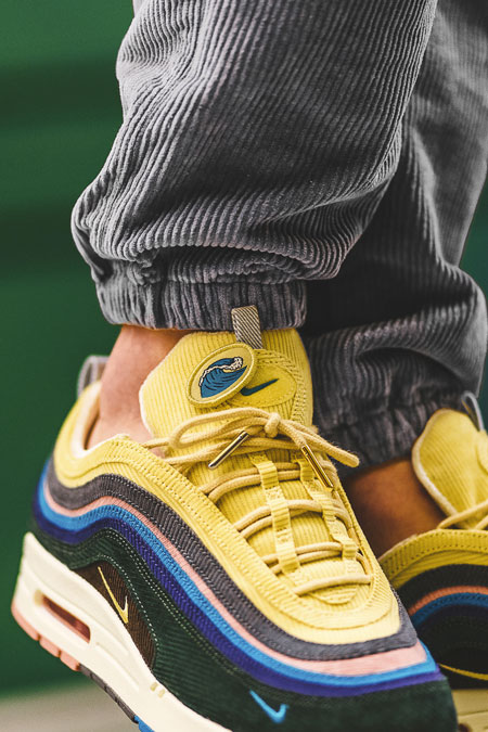 Sean Wotherspoon x Nike Air max 1 97 Collectors Dream (AJ4219-400) - On feet (Tongue)