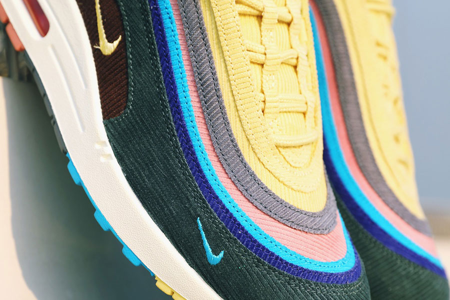 Sean Wotherspoon x Nike Air Max 1 97 More Air (Toebox)
