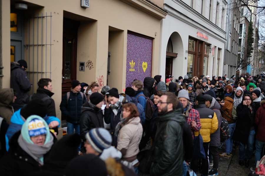 adidas BVG EQT Support 93 Berlin - Overkill Release 2