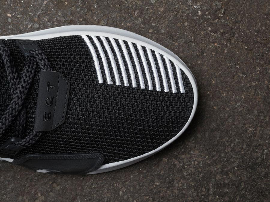 adidas EQT Bask ADV Black - Toebox