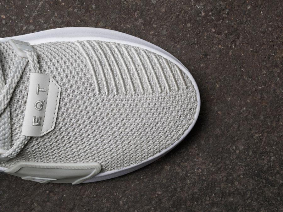 adidas EQT Bask ADV Grey - Toebox