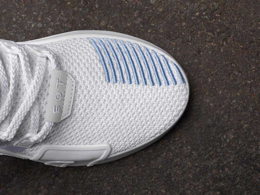 adidas EQT Bask ADV White - Toebox