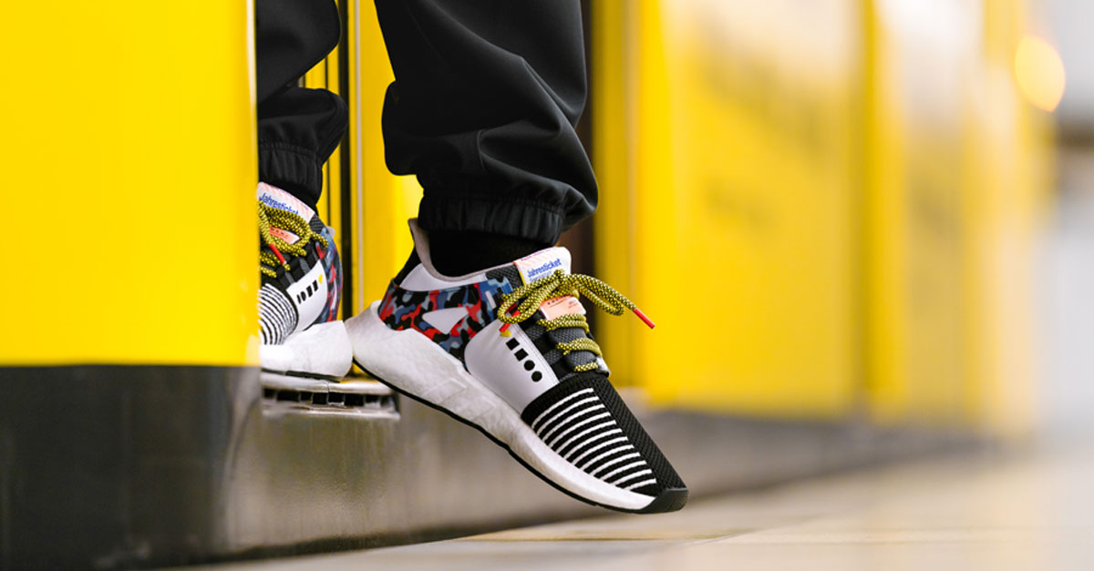 adidas EQT Support 93 Berlin BVG (Release Info) | Sneakers