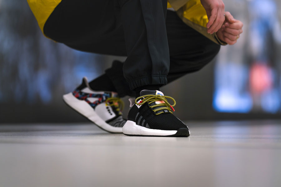 adidas EQT Support 93 Berlin BVG (On feet)
