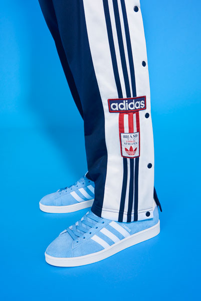 adidas Originals adicolor 2018 - Blue Track Pants (Men)